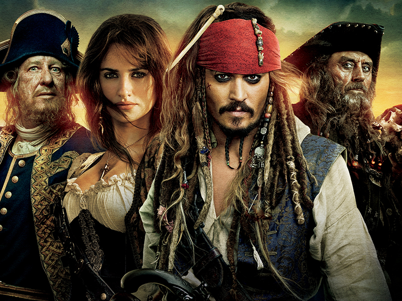 Pirates Of The Caribbean 4 3D UK TV Spot (2011)